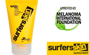 Surfer Sonnencreme Tube